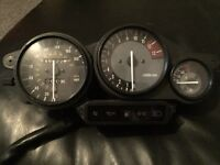 Yamaha thunderace clocks