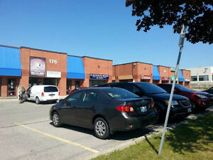 FRONT FACING  UNIT FOR LEASE 176 BULLOCK DR.UNIT # 2 MARKHAM ON