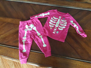 Gymboree Glow In the Dark Pj's