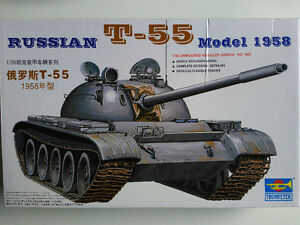 Trumpeter 00342 1/35 T-55 mod 1958 model kit (price dropped)