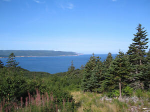 Oceanfront Property, Bay St. Lawrence, Cape Breton, NS