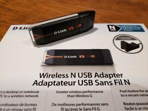 Dlink DWA-130 Wireless N USB Adapter