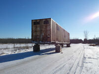 53 FT INSULATED STORAGE CONTAINER