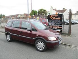 Vauxhall Zafira 1.8i 16v Club MPV 5d 1796cc auto