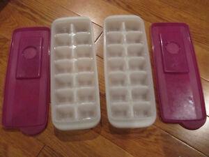 Bac à glace avec couvercle, idéal pour congeler nourriture bébé