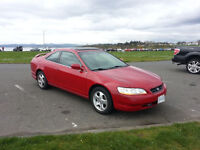 1999 Honda Accord EX V6 Coupe (2 door) Fully Loaded automatic