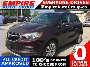 2017 BUICK ENCORE LEATHER/CLOTH * REAR CAM * BLUETOOTH * VOICE C