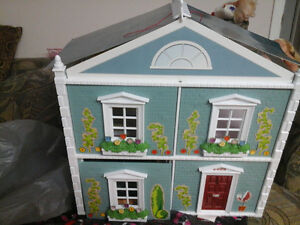 doll house for sale with some furniture seven towns