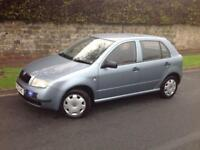 2003 SKODA FABIA CLASSIC 1.9 SDI MANUAL DIESEL 5 DOORS HATCH BACK GREY