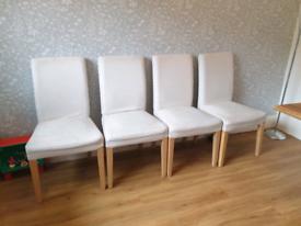 Dining Chairs x 4 Ikea
