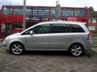 2010 Vauxhall Zafira 1.9CDTi 16v ( 150ps ) SRi 5DR 60 REG Diesel Silver
