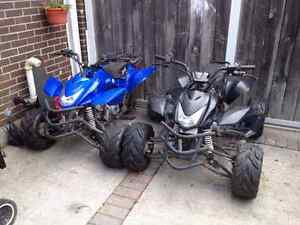 110cc quad 4 wheelers