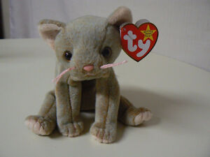 TY Plush Scat Cat Beanie Baby Toy with tags London Ontario image 1