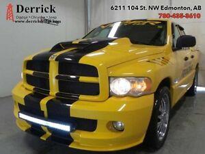 "2005 Dodge Ram 1500   Q/C SRT10 Lthr Sts/ Suede Yellow Ed 22"" Al"