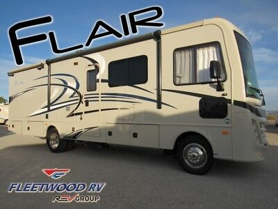 2018 Flettwood Flair 30P Class A Gas Motorhome Double Slide Out