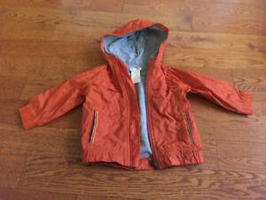Boys size 12-18 months orange jacket
