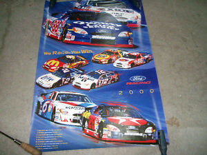 Poster / Affiche Ford Racing 2000 West Island Greater Montréal image 1