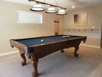8' Pool Table - Brunswick, Tremont - FREE SHIPPING AND INSTL