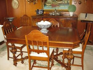 Antique Dining Room Suite