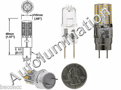 G8 2 Pin 64LED Oven Microwave Light Bulb Lamp 120vac Replaces GE WB08X10051