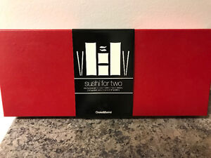 Crate and Barrel - Sushi for Two set - New Unused