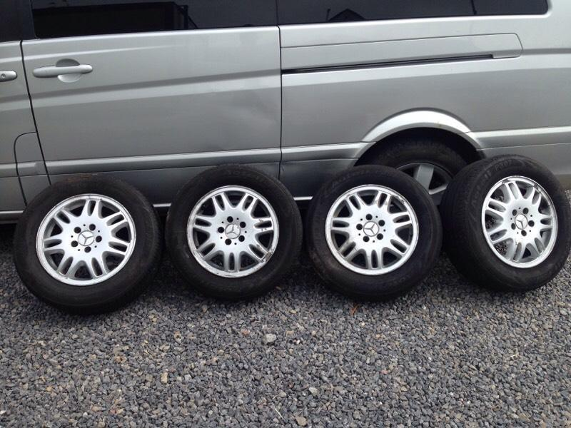 Mercedes Vito Viano Alloys | in Barry, Vale of Glamorgan | Gumtree