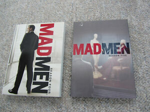 Madmen on DVD - Seasons 4 & 5