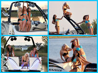 Wanna Model While Having Fun on the Water in a Sweet Boat?