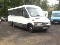 2005 1 owner council Iveco IRIS.BUS DAILY 50C13 17 seater minibus 2.8 td coach
