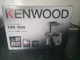 BRAND NEW Kenwood meat grinder Pro 1600