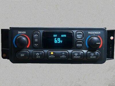 Chevrolet Corvette Digital Auto Climate Control Rebuilt 97 98 99 00 01 02 03 04