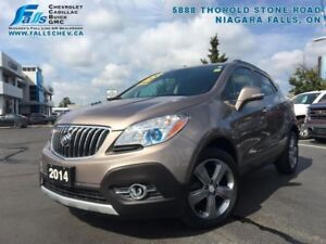 """2014 Buick Encore Convenience  REARCAM,ONE OWNER,18""""ALLOYS,POWER"""