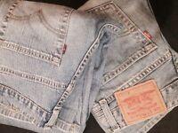 Levis original women's jeans x 2