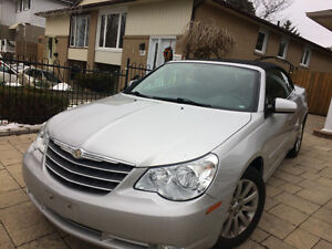 2010 Chrysler Sebring Silver Convertible