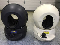 2 Liter Robot II self cleaning litter boxes
