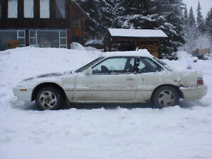 1991 Honda Prelude rough shape runs good *4 wheel steering*