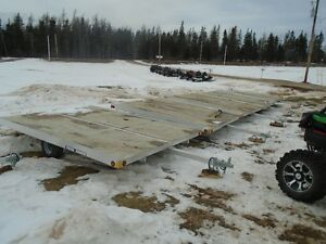 BRAND NEW 2 PLACE SNOWMOBILE TRAILERS