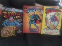 3 x superman canvas set
