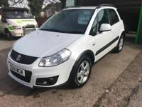 2012 61 Suzuki SX4 2.0 DDiS 4X4 SZ5 In White 1 Previous keeper VGC