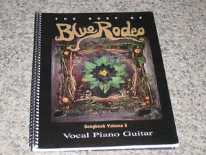 Blue Rodeo Best of Songbook