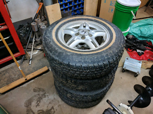 Studded 205/75/15 winter tires