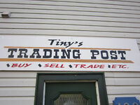 TINY's Trading Post Now Open!!