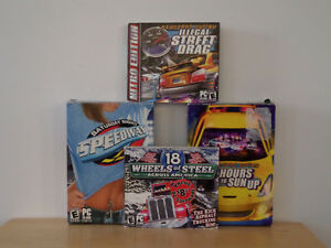 Set of 4 PC Driving Video Games Kingston Kingston Area image 3