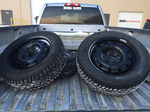 General altimax artic tires and rims.