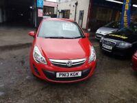 Vauxhall Corsa S 1.0i 12v ecoFLEX (red) 2013