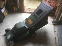 Black and decker 33 cm electric lawn mower