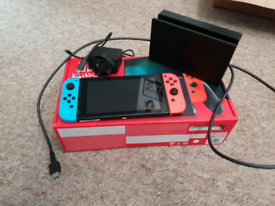 Nintendo Switch Console (Improved Battery) - AS NEW CONDITION!