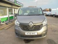 Renault Trafic Sl27 Energy Dci 120 Business+ Van DIESEL MANUAL GREY (2016)