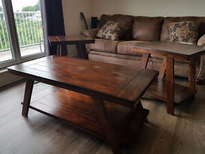 MUST GO SATURDAY - 3 Year Old COFFEE/ END TABLE SET Best Offer!!
