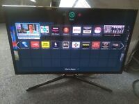 """Samsung 32"""" LED full HD smart built in wifi freeview tv"""